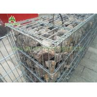 China Easy To Assemble Welded Gabion Box Anti - Rust For Roadway / Bridge Protection on sale