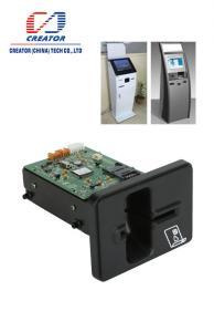 China Hybrid Manual Insert RF Chip IC Card Reader Writer , Magnetic Stripe Smart Card Reader on sale