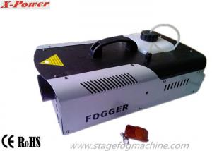China 1500W LED Halloween Fog Machines With 8*3W 3 In1 RGB LEDs DMX512 Control  X-024D on sale