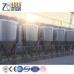 China Hot selling stainless steel Jacket 1000L fermentation tank conical micro beer brewing equipment on sale