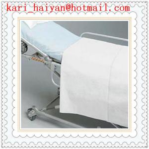 China PP, SMS Medical Nonwoven Surgical Disposable Hospital Bed Sheets, Bedspread on sale