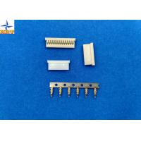 Electronics Single Row Printed Circuit Board Connectors With PA66 Material Crimp housing
