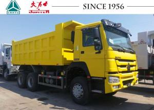 China 40 Tons HOWO Dump Truck With Hydraulic System , Small Heavy Duty Dump Truck on sale