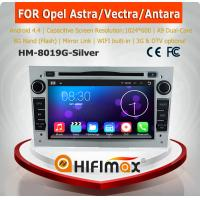 HIFIMAX Android 4.4.4 car radio dvd gps navigation for OPEL Astra/Antara/Vectra/Corsa/Zafira (silver color)