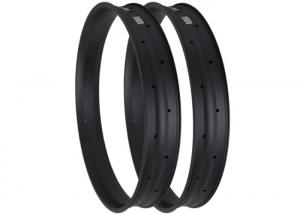 China 26er Snow Bike Carbon Fat Rims 4.3 - 5.0 Recommend Tyre Size Matte / Glossy Finish on sale