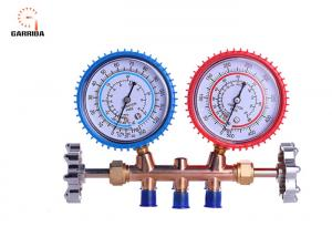 China OrionMotorTech 3FT AC Diagnostic Manifold Gauge Set For R134A R12 R22 R502 Refrigerants on sale