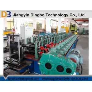 China Chain Transmission16 Roller Station Rack Roll Forming Machine 10-15m/min on sale