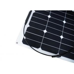 Quality 40 Watt Small Lightweight Semi Flexible Solar Panels For Boats RV Marine for sale