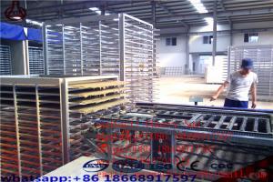 China High Tech Eps Sandwich Panel Machine / Semi Automatic Lightweight Wall Panel Machine on sale