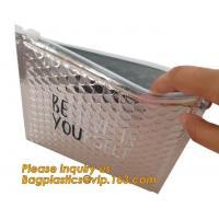 color zipper slider bubble bag cosmetic bag,Bubble Padded Zipper Bag Swimming Pool Cover Underfloor Mat bagplastics pac