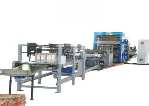 China Strengthen Sheet Cement Kraft  Paper Bags Full Automatic Making Machine With  Air Cylinder on sale