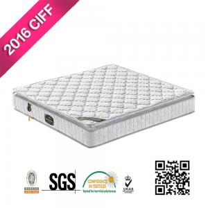 China Elegant luxury Queen Size Pocket Spring Mattress Factory Prices on sale