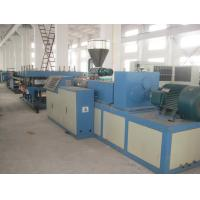 Twin Screw Extruder Board Wpc Extrusion Line , 1220MM Foam Board Production Line