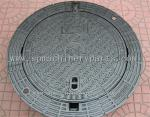 High Quality Iron Cast Lockable Hinged Manhole Covers Make In China