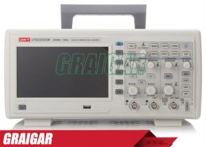 China Desktop Electronic Oscilloscope UTD2202CM Two Channels 200 Mhz 16 Kpts on sale
