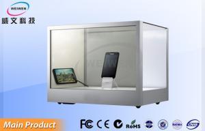 China Máquina infrarroja de escritorio modificada para requisitos particulares del anuncio del tacto de la exhibición transparente del LCD on sale