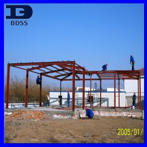 China Muti - span Arch High Rise Steel Structure Prefabricated Building Framework on sale