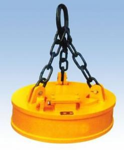 China Magnetic Chuck, Electric Lifting Magnet, Electro Magnet For Lifting Steel Scraps, DC-220V on sale