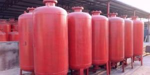 China 1000-50000 Liters Foam Bladder Pressure Vessel Tank,Fire Fighting Foam Buffer Tank on sale