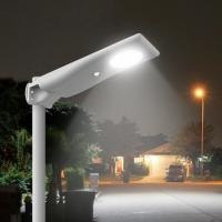 Integrated aluminum Lifepo4 battery parking lot LED modular customized specifications solar panel street lights