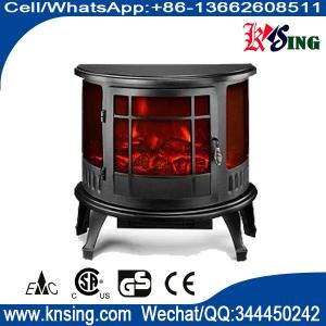 Electric Fireplace Heater 3 Sided Freestanding Electric Stove Sf