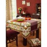 China Washable Custom Table Cloths custom made table linens wholesale