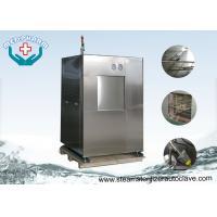Chinese Pressure Vessel Certificate Vertical Sliding Door Horizontal Steam Sterilization Autoclave