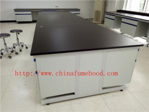China 3750 mm Protecting  Corrosion / Acid / alkali  Steel Wood Lab Furniture / Science Lab Casework on sale
