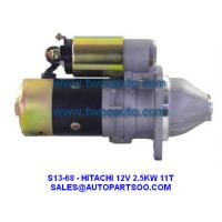 China 123500-77010, 12350077010, 124610-77010, 12461077010 - HITACHI Starter Motor 12V 2.5KW 11T on sale