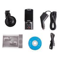 HD 720P NEW Dual Lens Dashboard Car cam vehicle Camera Video Recorder DVR