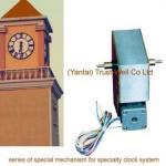 double side street clock movement for double face city clock mechanism of big clock-Good Clock(Yantai)Trust-Well Co.,Ltd