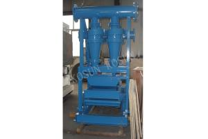 China Drilling Mud Desander cleaner to remove the harm solid phase of the drilling fluid on sale