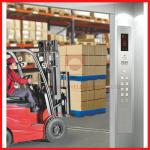 High Efficient Industrial Freight Elevator Reliable For Goods / Cargo
