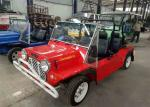 Left / Right Driving Classic Mini Moke Car Gasoline Or Electric Type Street Legal