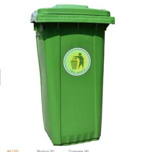 China Green Plastic Molded Products Environmental Friendly For Park Or School on sale