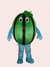 Quality handmade lovely watermelon mascot cartoon cosplay fruit costumes for kids and for sale