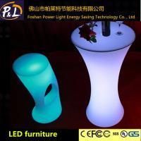 China Tabla recargable del presumido de los muebles LED del ocio de la decoración del partido on sale