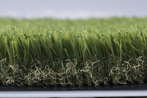 China Aging Resistant U shaped 40mm Artificial Grass / landscaping Faux Grass Carpet on sale