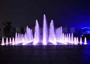 China Garden Dry Land Floor Water Fountains Show Programmable PC Controlled on sale
