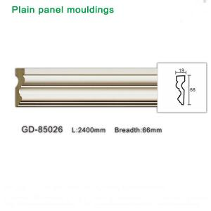 China Newly PU plain panel moulding lastest building finishing material on sale