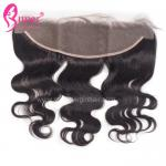 Swiss Custom Lace Frontal Closure Body Wave Real Human Hair Weave No Tangling