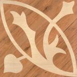 Juglans Regia Ceramic Glazed Floor Tiles , Anti Skid Wood  Texture Glazed Tiles For Kitchen