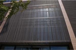China UV Waterproof WPC Wall Cladding Panel for Room Roof Garden Drainage Board on sale