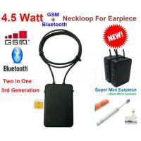 Best  model high quality  4.5 W  Spy GSM Box neckloop  black Megntic mini micro Invisible Spy Exam Iner earpiece china