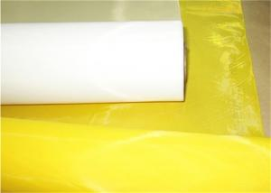 Quality DFP46 Polyester Screen Printing Mesh With High Tension For Ceremics for sale