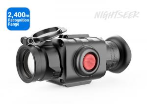 China Precise Handheld Hunting Night Vision Monocular 2400m Recognition Range Type on sale