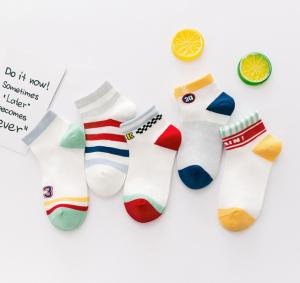 China Custom Kids Boy Socks Cotton Baby Socks Knitting Kids Sock Plain Color on sale