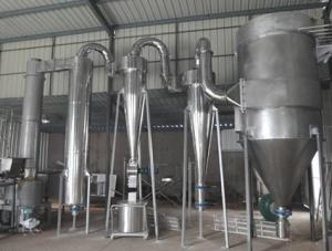 China Explosion Proof type Rotating Flash Dryer Evaporation Dryer For Pesticide on sale