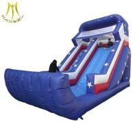 China Hansel hot selling outdoor amusement park kids amusement toys kids jumping castle factory on sale