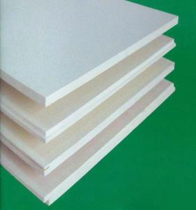 White Thermal Insulation Fibergl Wool Concealed Ceiling Tiles 12mm 20mm 25mm
